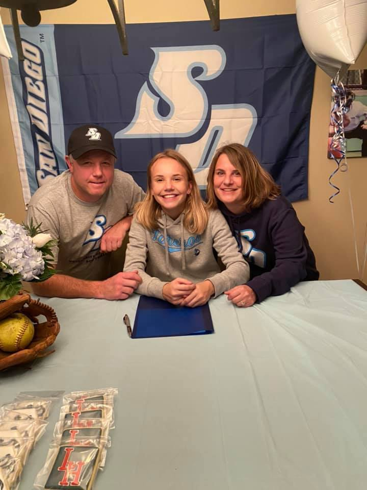Kjirstin Hopfer signs with University of San Diego