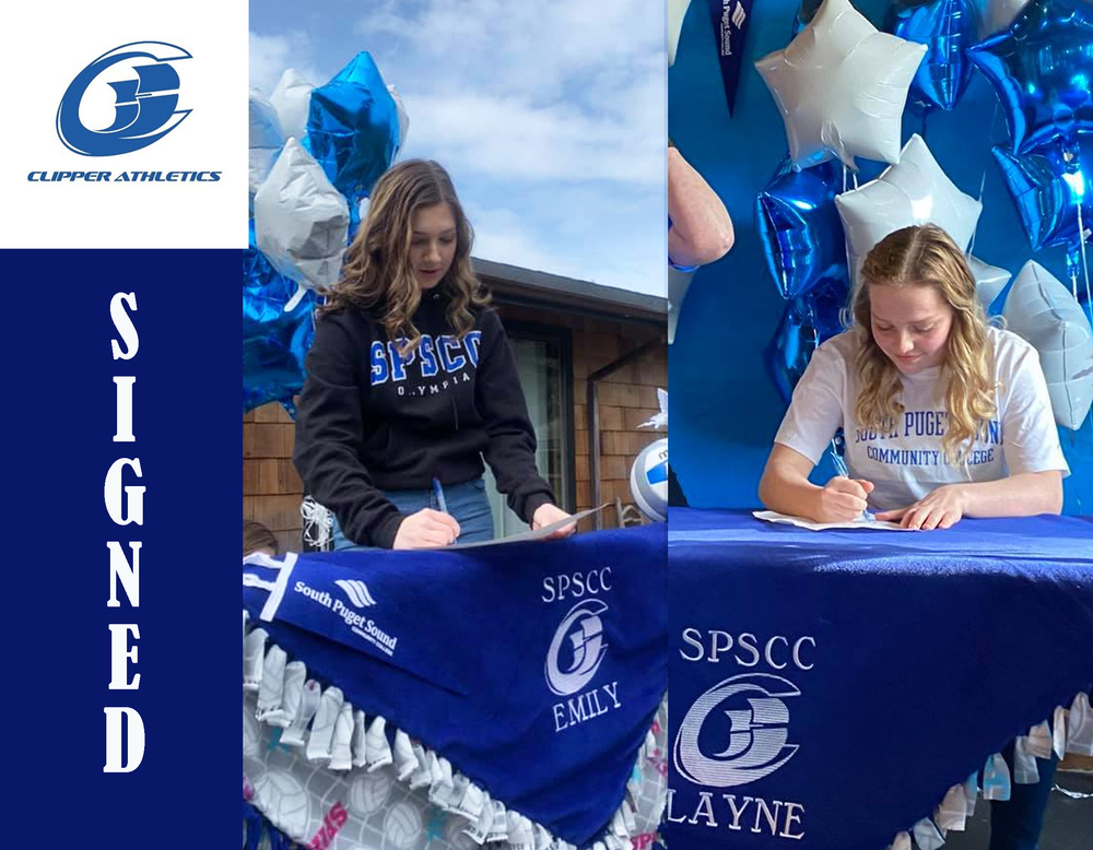 Emily and Layne Sign with SPSCC