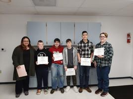 Student Recognized for AMC 8 Participation