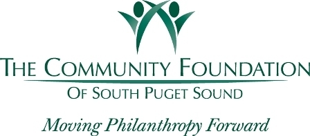 logo of The Community Foundation of South Puget Sound Moving Philanthropy Foward